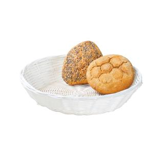 Корзина для хлеба круглая KESPER 25 х 6 см, белый