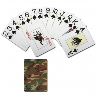 Rothco Игральные карты Spielkarten Rothco Camouflage Woodland