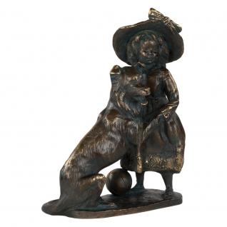 Статуэтка «Играющая Колет» (декоративная скульптура) (Античная бронза)