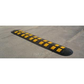 ИДН300 (искуственная дорожная неровность) средний сегмент желтый