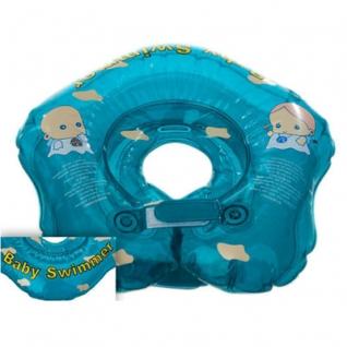 Круг для купания BabySwimmer ВS21B голубой (полноцвет) 3-12кг