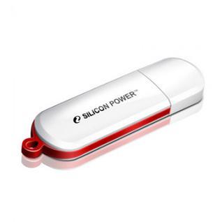 Флеш-память Silicon Power Luxmini 320 8GB white