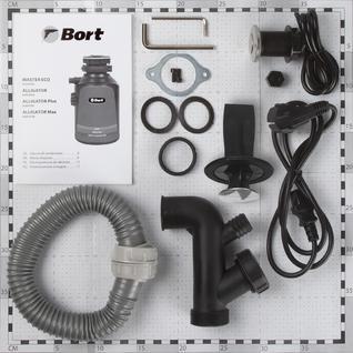 Измельчитель пищевых отходов Bort Alligator Plus (93410761)