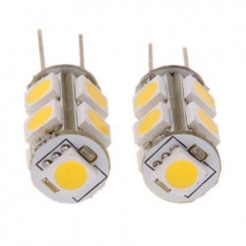 Светодиодная лампочка G4 - 9*5050ES, 80lm, 12V 1.8W, 6000К, лампа светодиодная 630