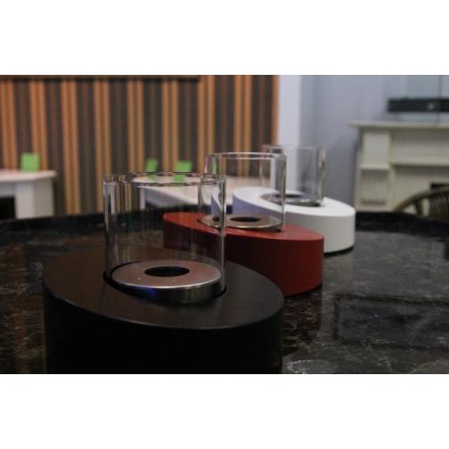 Биокамин Glass Ovale Rosso 853125 2