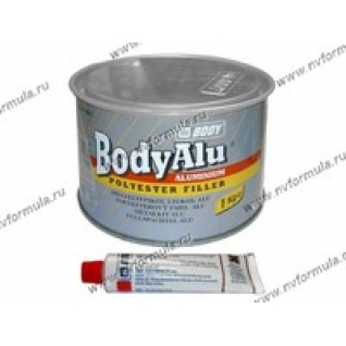 Шпатлевка Body с алюминием 1 кг