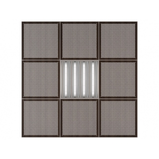 Потолочная плита Presko Глория 59.5х59.5