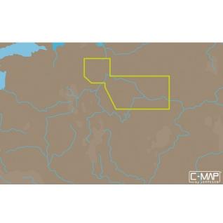 Карта C-MAP RS-N214 - Рыбинск – Чебоксары C-MAP
