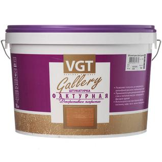 ВГТ штукатурка фактурная белая (18кг) VGT Gallery штукатурка фактурная белая (18кг)
