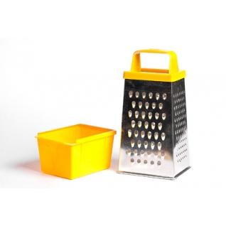Тёрка Универсальная с пластиковой ручкой, с контейнером