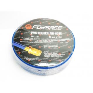 Шланг резиновый армированный с фитингами 10*16мм*10м(для воздуха) Forsage