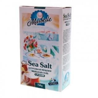 Соль морская Marbelle средняя, 750гр