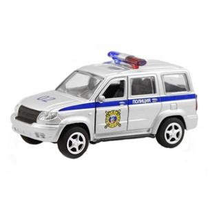 """Инерционная модель """"УАЗ Патриот 3163"""" - Полиция, 1:50 Play Smart"""