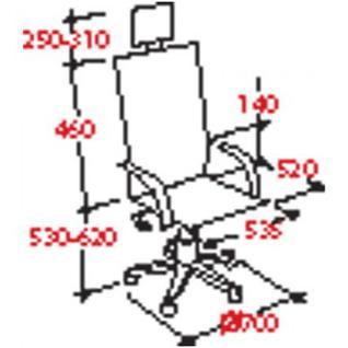 Кресло BN_U_Руководителя EChair CS-8822E-1 кожа коричн., хром