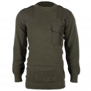 Mil-Tec Пуловер Бундесвера акриловый, цвет оливковый