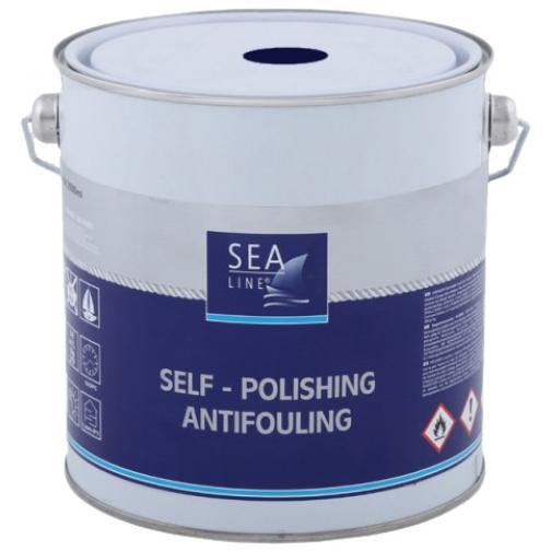 Необрастающая краска (антифоулинг) Sea-Line Alu Plus 2,5л синяя (8067) 36993513