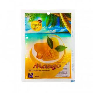 Сухофрукты манго Filipino Sun сушеные, 100г