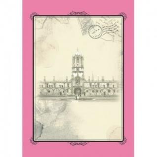 Бизнес-тетрадь Attache Selection,А4,спираль,пласт.обложка,розовый,Оldtown
