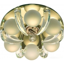 Встраиваемый светильник Feron CD2530 JCD9 35W G9 прозрачный-матовый
