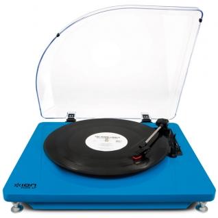 ION AUDIO PURE LP BLUE