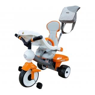 Велосипед 3-х колёсный ДИДАКТИК-2 с игровой панелью, ручкой, ремешком, чехлом и сумкой Полесье