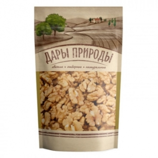 Орехи Грецкий орех Дары природы, 110г