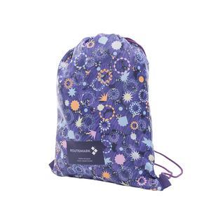 Пляжный рюкзак «Искры,блестки и конфетти» с паттерном Студии Артемия Лебедева Routemark