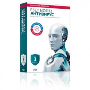 Антивирус ESET(NOD32-ENA-2012RN(BOX)-1-1) 3ПК/1г или продл-20 мес(BOX)