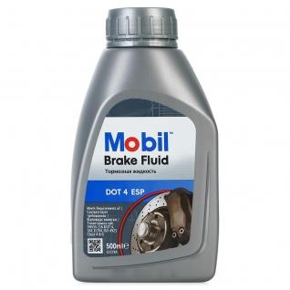 Тормозная жидкость Mobil Brake fluid DOT 4 ESP 0.5л