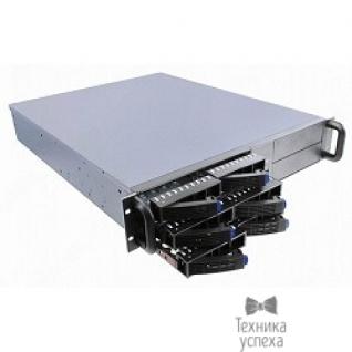 "Procase Procase ES206S-SATA3-B-0 2U 6 SATAII/SAS hotswap HDD, глубина 550мм, MB 12""x10.5"", без Б/П,черный"