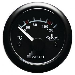 Wema Индикатор температуры масла Wema IPYR-BB-40-120 12/24 В 40 - 120 °C