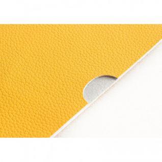 Обложка для паспорта (нат.кожа 02-016-0630 желтый)