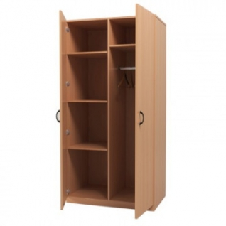 Мебель для общежитийMon_Для Общежитий Шк. Для одежды комб. ШФ21.10 бук