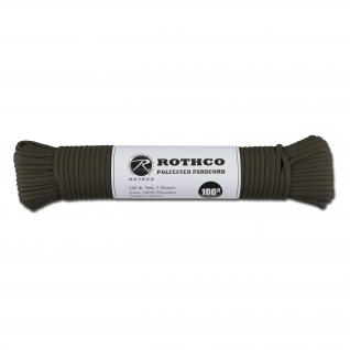 Rothco Паракорд 550 lb 100 фт. полиэстер оливкового цвета