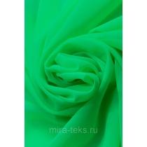 Шифон однотонный 120гр/пог.м, цвет: салатовый