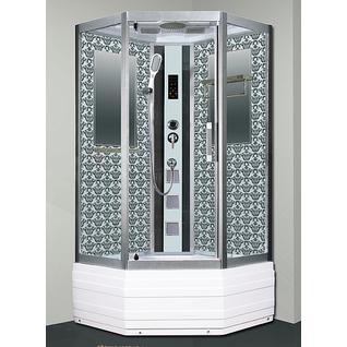 Душевая кабина Niagara Lux 7798W серебристый матовый