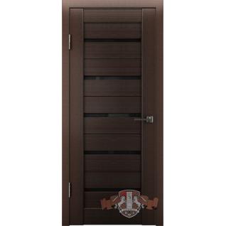 Межкомнатная дверь LINE 1 Л1ПГ4 стекло ультра черное