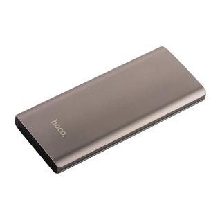 Аккумулятор внешний универсальный Hoco J17-7000 mAh Clear Power Bank (USB: 5V-2.1A) Графитовый