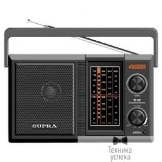 Supra Радиоприемник портативный Supra ST-122 черный