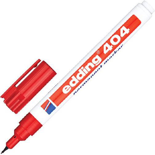 Маркер перманентный EDDING E-404/2 красный 0,75мм круглый наконеч. 37849070 1