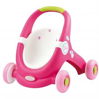Ходунки-коляска для кукол MiniKiss 2 в 1 Smoby