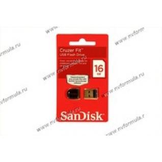 Флеш накопитель USB16Гб SanDisk Cruzer Fit