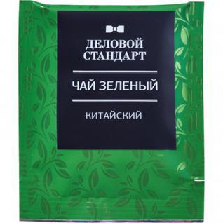 Чай Деловой стандарт зелен. 100 пакx1,8гр/уп 80-80