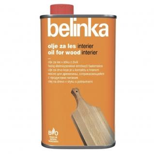 Масло BELINKA Food Contact 0,5л для древесины, соприкасающейся с продуктами питания
