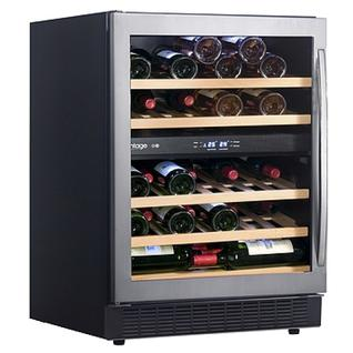 CLIMADIFF Винный шкаф с двумя зонами Climadiff AV54SXDZ (50 бутылок)
