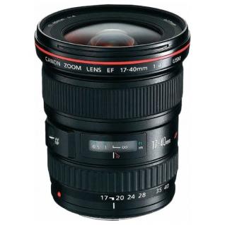 Canon EF 17-40mm f/4L USM*