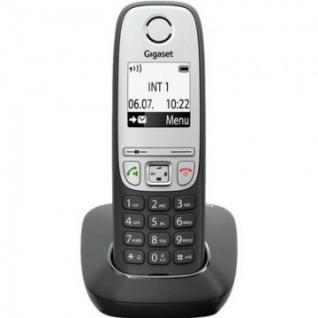 Радиотелефон Gigaset A415 АОН,черный ,тел.книга 100 ном.,гр.св.