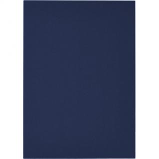 Обложки для переплета картонные Promega office син.ленA4,250г/м2,100шт/уп.