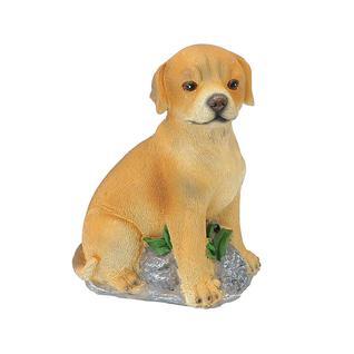 Фигурка садовая лающий щенок Verdemax