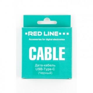 Кабель Red Line (УТ000010553) USB - Type-C, черный